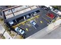 Parking Lot Striping Wheel stops Bollards Truncated domes Asphalt Concrete Speed humps
