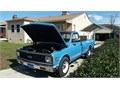 1971 Chevy Cheyenne 20 fleetside longbed pick up camper ready nu tires nu 350 crate eng perf par