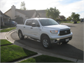 2013 Toyota Tundra Crew Max 4X4 White Exterior Black Leather Seats  6 Speakers AMFM wCD Player