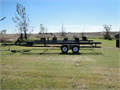 Like new 24 ft Pontoon Trailer Equipped with all the good stuff LED lights new tires and spare
