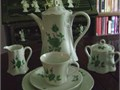 Hutschenreuther fine porcelain 27 piece coffee set for 8 Cups Saucers Coffee pot creamer sugar