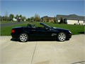 beautiful roadster with retractable glass hardtop been in family since new navi 8 cd changer bur
