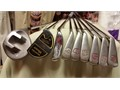 GOLF CLUBS AND BAG ARNOLD PALMER CLUBEXECUTIVE SPALDING CLUBS