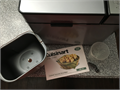 Cuisinart Bread Maker - gently used original owner nonsmoker Includes machine bread bin paddle