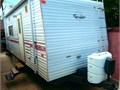 For Sale 1999 21 Fleetwood Terry 21C toy-hauler trailer in good condition Nearly new tires wheel