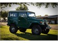 Beautiful 1979 FJ40Rustic Green exterior with Gray seating and floor matsNew Air ConditioningN