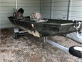 This 2018 14 Jon boat is ready to go Package includes 2018 boat trailer 2018 Mercury 99 four str
