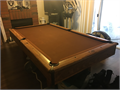 8ft AMERICAN brand Pool Table and PingPong table top Cue sticks stand and PingPong accessories in