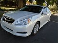 2012 Subaru Legacy   36R limited white pearl exterior tan inside dealer automatic cold ac V6