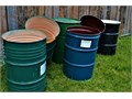55 gallon barrels with lidsfood grade  clean residue free rust free Excellen
