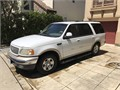 1999 Eddie Bauer Ford Expedition White with Tan Leather fully loaded Tow Package with Heavy Duty