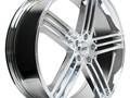 Luxurious Chrome 22 wheels for your carSize 22x8Bolt Pattern 5x120Offset 38mm Quantity