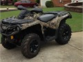 2014 CanAm Outlander 500XT Camouflage wwinch 1 year remaining on Factory Extended warranty 7600