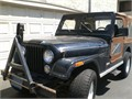 1981 Jeep CJ-7 in good shape It has 100000 miles and needs some body work 6000 or best offer