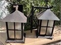 Top 7x7 Projects 7 from wall 12 tall 7 wide backplate measures 4 x 10Metal Bronze in c