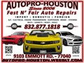 Certified  Transmission  Engine  Diagnostics  Repair Car Care Center Houston Harris county TX wi