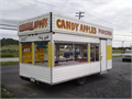 Up for auction is an 8 x 16 concession trailer The trailer has a 2 marquee on top with attention