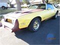 1977 Pontiac Firebird Formula 400 RPO L78 rated at 180 hp rare yellow and black edition T-tops