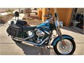 This is a 15th anniversary edition Fat Boy with less than 23000 miles Custom Harley Davidson Chrom