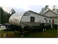 Cherokee Grey wolf 26RR Toy hauler with king size bed and everything you need to camp 13500