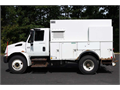2003 INTERNATIONAL 4300 DT466 6 CYL DIESEL 230 HP ALLISON 5 SP POWER STEERING AIR BRAKES AIR