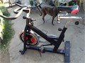 Nice exercise bike with adjustable height seat and handlebars and adjustable level of spin difficult