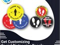 RegaloPrint is providing the best quality for social distancing custom decals The decals printing w