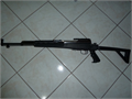 SKS RIFLE LIKE NEW ADJUSTABLE Folding stock 450 with scope  mount 45000 706-294-0391