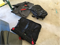 Luggage including a garment bag each for 5 or all 3 for 10 Must be able to pick up by 426 5