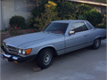 1979 Mercedes Classic 450 SLC Metallic Silver color One owner Low mileage 2 door sky roof