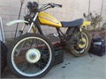 1973 OR1975 KAWASAKI DIRT BIKE NO MOTOR OR TITLE GREAT PARTS PLEASE DO NOT CALL AND ASK WHATS MY BE