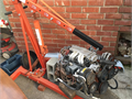 1989 Chevy TOI V8 50 Engine with Engine Puller 2 ton puller is worth 100 plus aloneSee pics fo