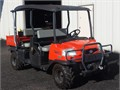 2011 Kubota RTV 4x4 Diesel Engine 3 Spd Power Dump Bed Extendable Dump Bed Swamp Witch Tires