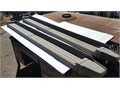 Right  Left side OEM Ford Running Boards Tan  Light Grey Used No visible cracks Slight wear a