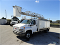 2005 GMC C4500 TELELIFT 42ft Bucket Box Truck - M03890