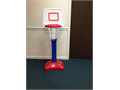 Childs Basketball Hoop  Pretty Red While  Blue Colors  Sturdy Built  Let your child enjoy Ins
