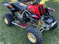Red and black Yamaha banshee350Second handed runs perfectly well Fully updated