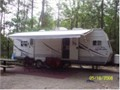 2006 Jayco 28 FKS with Slide  DVDCD surround sound inside tub shower combo shower sky light out