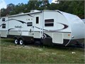 2008 Keystone RV Outback Sydney Edition 31RQS Single Slide Outback Sydney wRear Bunk bed Area with