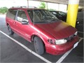 1996 Nissan Quest Good motor and transmission body is fair currently registered 20 liter V6 Pr