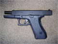 Like new Glock 40 caliber handgun model 22 Fired less than 20 times Original box owners manual