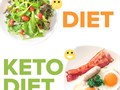 The keto program recommends a diet that is low on carbs moderate on protein and high in fat The i