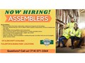 Increased Pay RateHiring ASSEMBLERS 1st  2nd shifts available for both Fullerton and Buena P