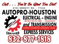 Transmission  Engine  Electrical  Suspension  Diagnosis  Maintenance  Repair by ASE Certified