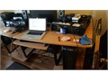Selling my desk  it comes with the top panelsI have them store for Monitors and speakers and rack