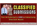 We will promote your classified ad and website each month to 1000s of Advertising Pages each month