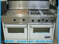 4 burner double oven 48 in VIKING stove comes with warranty 6650 van nuys bl van nuys 91405  open e