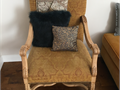 Floral chair good condition  well made