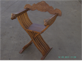 CHAIRS 50 YEARS OLD FROM ITALY CLASSIC FOLDING CHOIR CHAIRS SOLID WOOD HAVE 3 IN GOOD CONDITI
