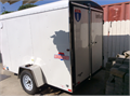 Brand new Interstate enclosed trailer Never been used Paid 4200 want 3200 firm Comes with spare